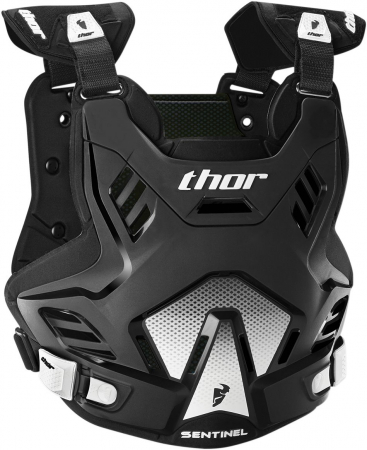 Protectie THOR SENTINEL GP S16 ROOST DEFLECTOR BLACK/WHITE M/L
