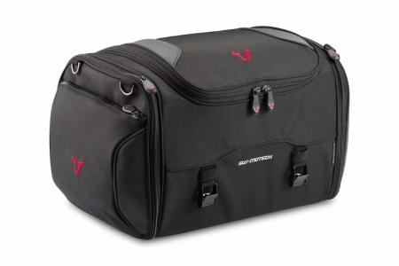 Rackpack geanta codita 36-45 l. Ballistic Nylon. negru /Gri.0