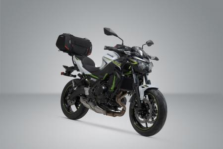 Rackpack top case sistem Kawasaki Z650 (16-), Ninja 650 (16-). [1]