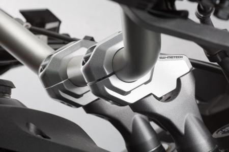 Relocare ghidon D. 22 mm (in sus: 30 mm , in spate: 21 mm) Argintiu [1]