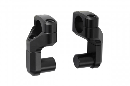 Relocare ghidon si conversie de la D.22mm la D.28 mm. Negru