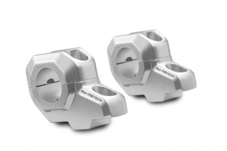 Relocare ghidon Vario D.28 mm H=30 mm. Back 22 mm. argintiu.