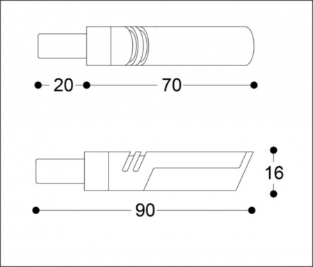 Semnalizatoare LED IDEA B-LUX AURII (pereche)5