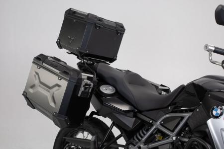 Set 3 cutii Adventure cu sistem fixare Argintiu. BMW F 800 / 700 / 650 GS (08-).1