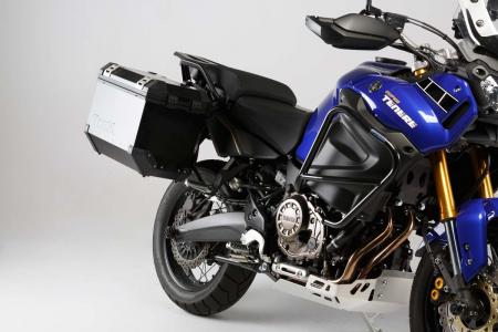 Set 3 cutii Adventure cu sistem fixare Argintiu. Yamaha XT1200Z Super Ténéré (10-).1