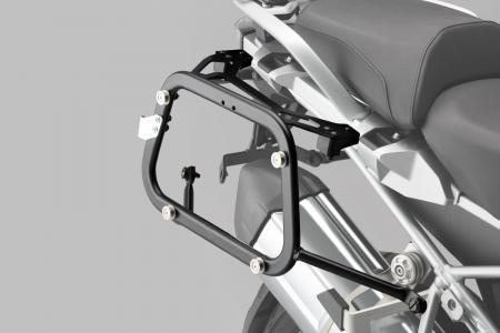 Set 3 cutii Adventure cu sistem fixare Argintiu. Yamaha XT1200Z Super Ténéré (10-).3