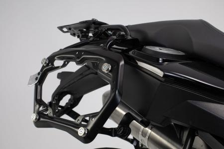 Set 3 cutii Adventure cu sistem fixare Negru. BMW F 800 / 700 / 650 GS (08-).2