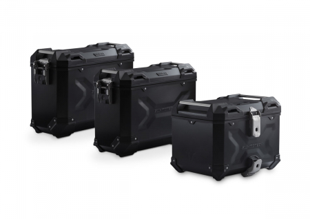 Set 3 cutii Adventure cu sistem fixare Negru. Yamaha MT-09 Tracer (14-).0