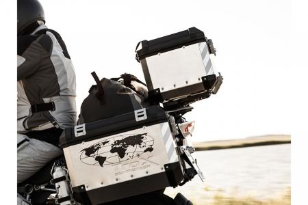 Set benzi reflectorizante pentru Trax ALU-BOX pentru 2 side case sau pentru 1 top case2
