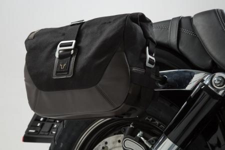 Set genti laterale Legend Gear - Editie Neagru Harley-Davidson Dyna Fat Bob (08-).1