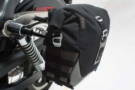 Set genti laterale Legend Gear - Editie Neagru Harley Davidson Dyna Wide Glide (06-08).1