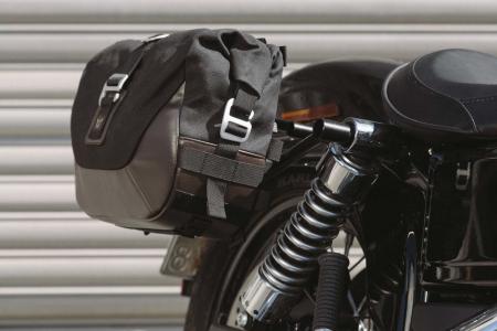 Set genti laterale Legend Gear - Editie Neagru Harley Davidson Dyna Wide Glide (09-17).2
