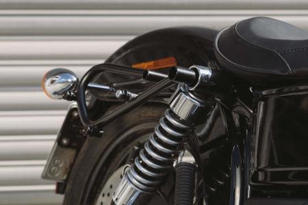 Set genti laterale Legend Gear - Editie Neagru Harley Davidson Dyna Wide Glide (09-17).4