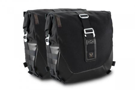 Set genti laterale Legend Gear - Black Edition Triumph Bonneville T100 (16-) / T120 (15-).0