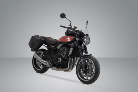 Set genti laterale Urban ABS cu sistem fixare 2x 16,5 l. Kawasaki Z900RS (17-). [1]