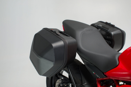Set genti laterale Urban ABS cu sistem fixare. 2x 16 l. Ducati Monster 797 (16-).1