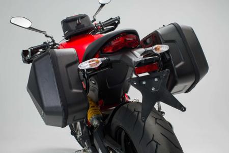 Set genti laterale Urban ABS cu sistem fixare. 2x 16 l. Ducati Monster 797 (16-).4