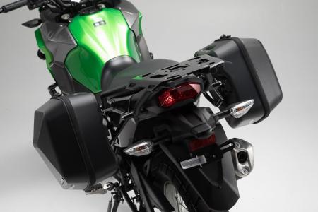 Set genti laterale Urban ABS cu sistem fixare. 2x 16 l. Kawasaki Versys-X 300 (16-).3