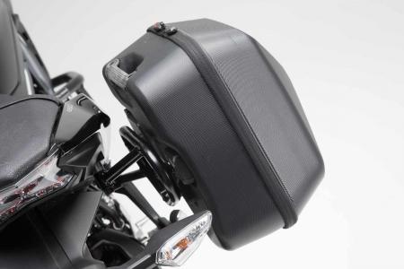 Set genti laterale URBAN ABS cu sistem fixare. 2x 16 l. Kawasaki Z650 / Ninja 650 (16-).4