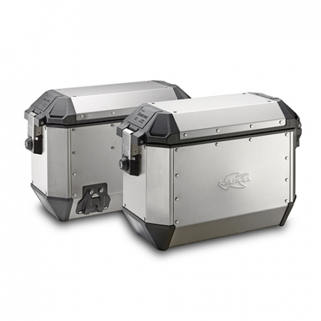 Set Side Case Kappa K-Mission de 36 L Aluminiu