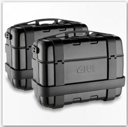 Set Side Case Trekker Negru 33Lt. 2 buc