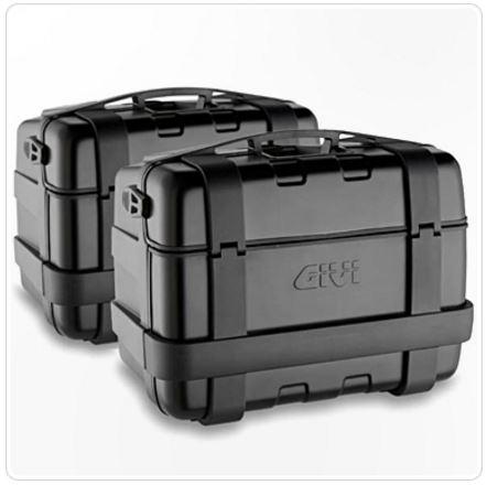 Set Side Case Trekker Negru 46Lt. 2 buc