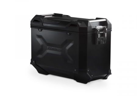 Side Case aluminiu TRAX ADV L 45 L. Dreapta. Negru.