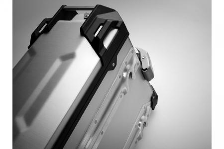 Side Case aluminiu TRAX ADV L 45 l. Stanga. Argintiu. 49x28x37 cm.4