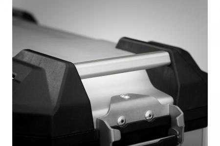 Side Case aluminiu TRAX ADV L 45 l. Stanga. Argintiu. 49x28x37 cm.2