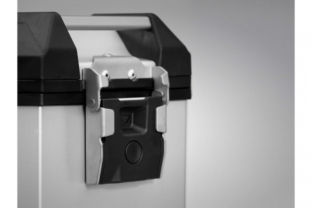 Side Case aluminiu TRAX ADV M 37 l. Stanga. Negru. 49x23x37 cm.1