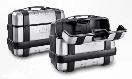 Side Case Trekker argintiu33 LT 2 buc