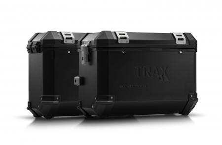 Sistem cutii laterale Trax Ion aluminiu Negru. 45/37 l. BMW F 750 / 850 GS (18-).