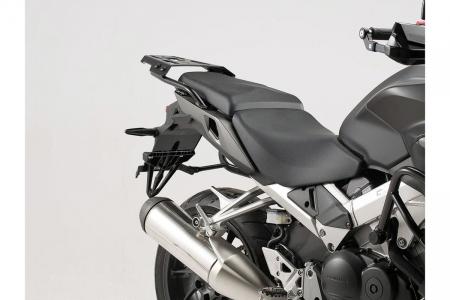 Sistem cutii laterale Trax Ion aluminiu Negru. 37/37 l. Honda VFR800X Crossrunner (15-). [3]