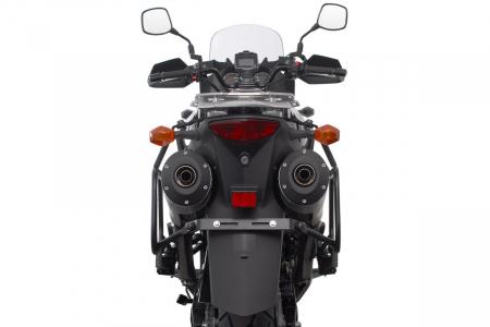 Sistem cutii laterale Trax Ion aluminiu Negru. 37 / 37 l. Suzuki DL1000 / Kawasaki KLV1000 [4]