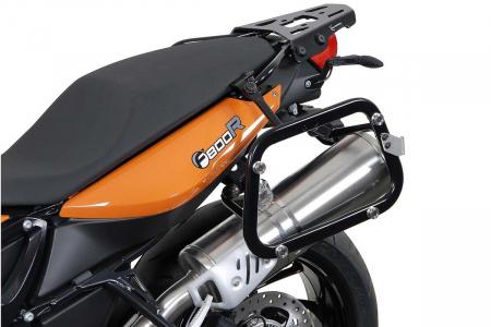 Sistem cutii laterale Trax Ion aluminiu Negru. 37/45 l. BMW F800 R (09-) / F800GT (12-16). [1]