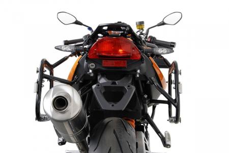 Sistem cutii laterale Trax Ion aluminiu Negru. 37/45 l. BMW F800 R (09-) / F800GT (12-16). [2]
