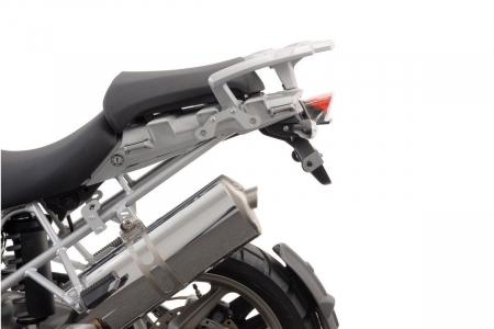 Sistem cutii laterale Trax Ion aluminiu Negru. 37 / 45 l. BMW R 1200 GS (04-12) / Adv. [1]