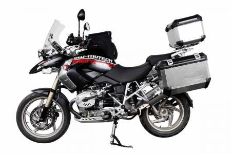 Sistem cutii laterale Trax Ion aluminiu Negru. 37 / 45 l. BMW R 1200 GS (04-12) / Adv. [2]