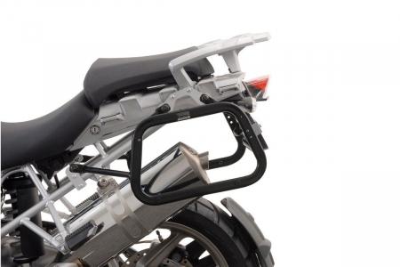 Sistem cutii laterale Trax Ion aluminiu Negru. 37 / 45 l. BMW R 1200 GS (04-12) / Adv. [3]