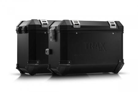 Sistem cutii laterale Trax Ion aluminiu Negru. 45 / 45 l. BMW F650GS (-07) / G650GS (11-) [0]