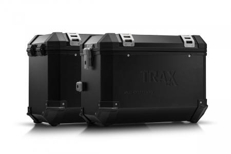 Sistem cutii laterale Trax Ion aluminiu Negru. 45/45 l. Honda VFR1200X Crosstourer (11-). [0]