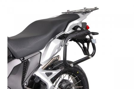 Sistem cutii laterale Trax Ion aluminiu Negru. 45/45 l. Honda VFR1200X Crosstourer (11-). [2]