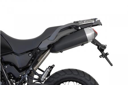 Sistem cutii laterale Trax Ion aluminiu Negru. 45 / 45 l. Yamaha XT 660 Z Tenere (07-). [2]