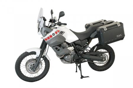 Sistem cutii laterale Trax Ion aluminiu Negru. 45 / 45 l. Yamaha XT 660 Z Tenere (07-). [3]