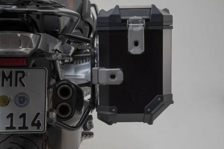Sistem cutii laterale Trax Adv aluminiu 45/37 l. + Akrapovic BMW R 1250 GS/Adv/Rallye (18-). [7]