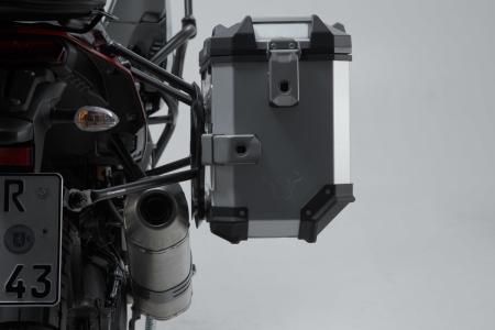 Sistem cutii laterale Trax Adv aluminiu 45/45 l. + Akrapovic Yamaha Ténéré 700 (19-20). [7]