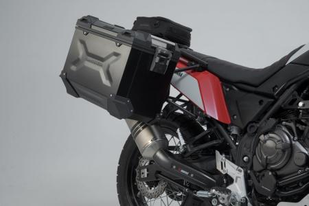 Sistem cutii laterale Trax Adv aluminiu 45/45 l. + Akrapovic Yamaha Ténéré 700 (19-20). [2]