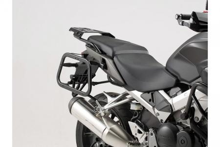 Sistem cutii laterale Trax Adv aluminiu Argintiu. 37/37 l. Honda VFR800X Crossrunner (15-).1