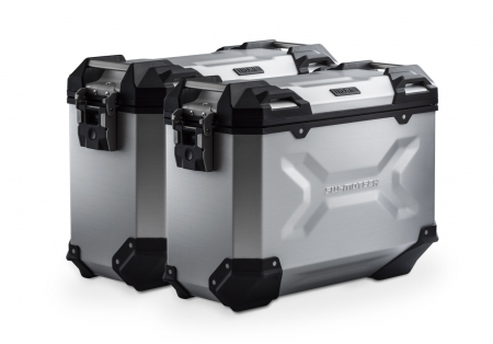 Sistem cutii laterale Trax Adv aluminiu Argintiu. 37/37 l. Multistrada 1200 / S (10-14).