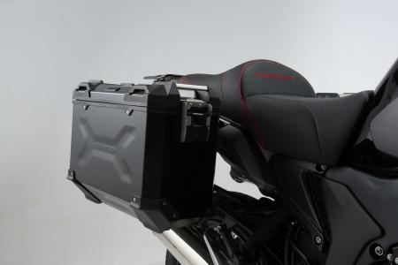 Sistem cutii laterale Trax Adv aluminiu Negru . 37/37 l. Honda Crosstourer (11-). [1]